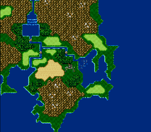 Maps Update 20482048 Final Fantasy World Map Theme Final Fantasy V World